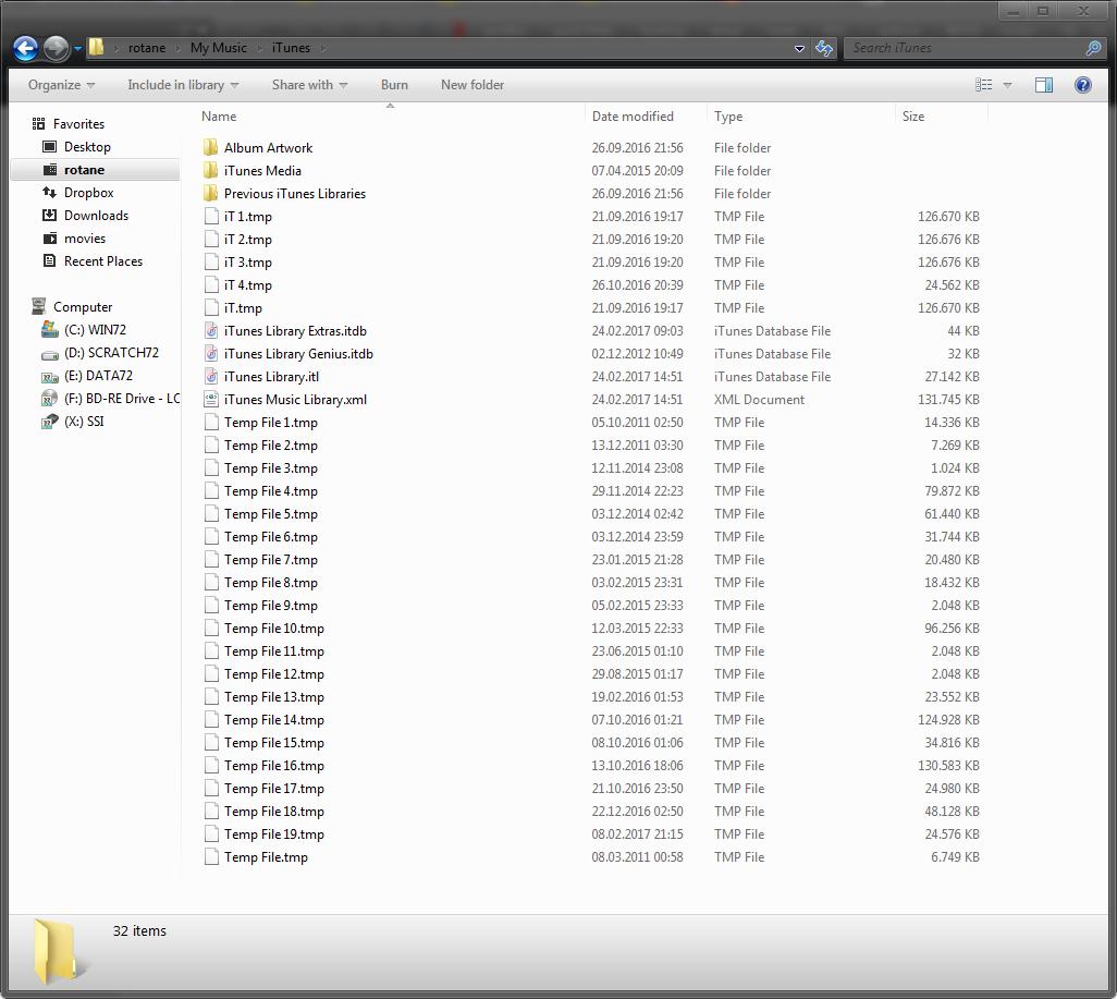 Kirkville - Understand iTunes Library Files